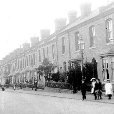 Leamington Spa.  Highfield Terrace
