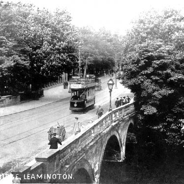 Leamington Spa.  Victoria Bridge