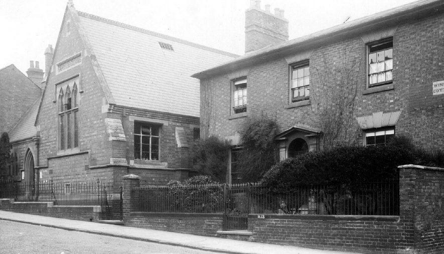 St Peters School and Convent (Windsor Cottage).  1900s |  IMAGE LOCATION: (Warwickshire County Record Office)