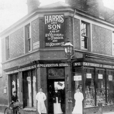 Leamington Spa.  Rugby Road, Harris & Sons