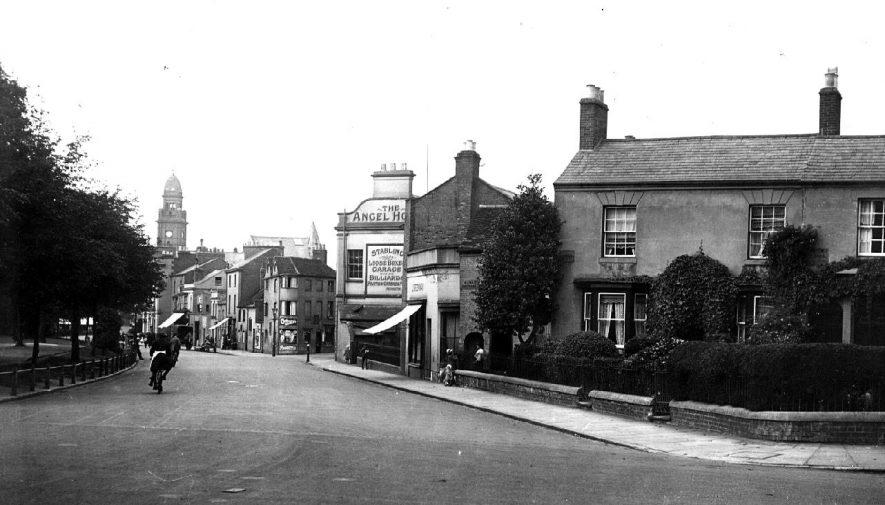 The Angel Hotel Leamington Spa Warwickshire