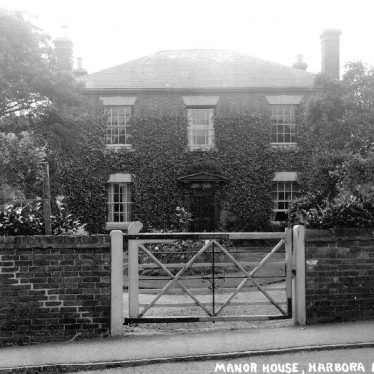 Harborough Magna.  Manor House