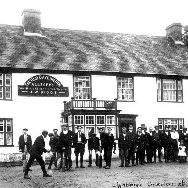 Gaydon.  Lighthorne Cricketers
