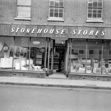 Leamington Spa.  Regent Street, Stonehouse Stores