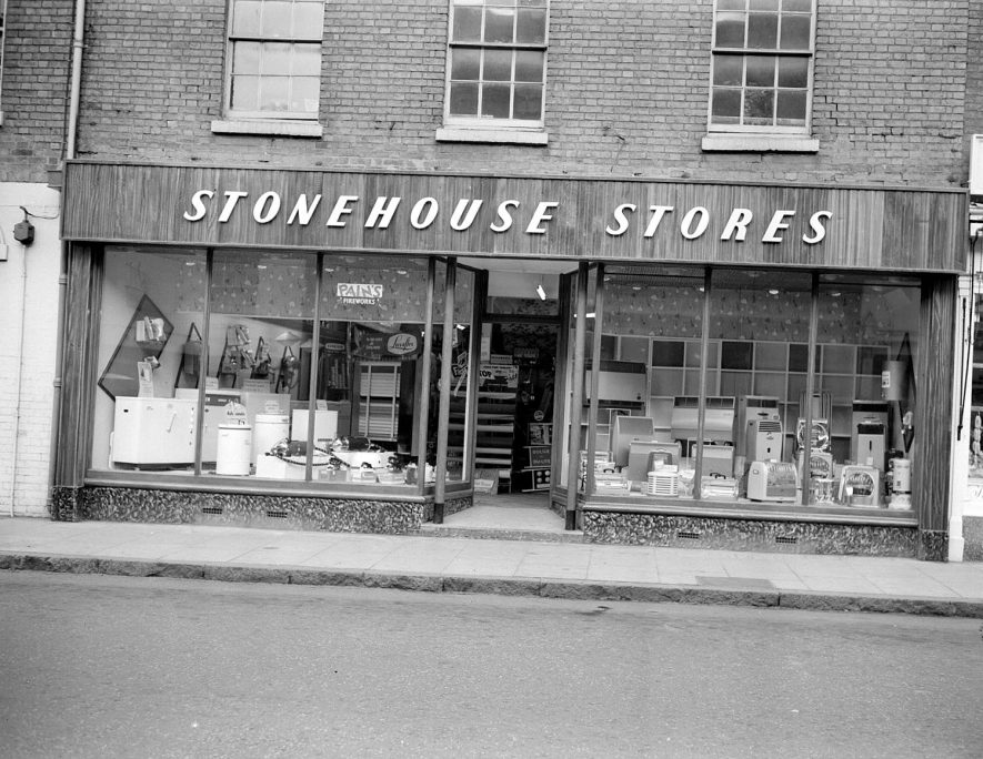 Stonehouse Stores, Regent Street, Leamington Spa.  1958 |  IMAGE LOCATION: (Warwickshire County Record Office)