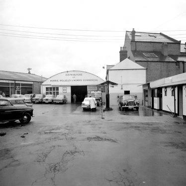 Leamington Spa.  Regent Garage