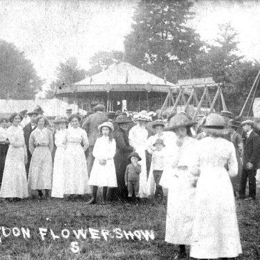 Gaydon.  Flower show
