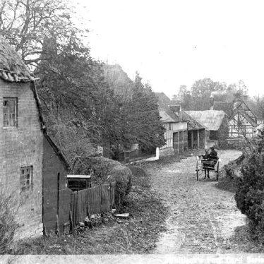 Walcote.  Village scene
