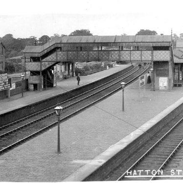 Hatton.  Railway Station