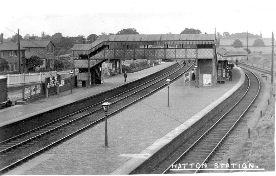 Hatton station.  1910s |  IMAGE LOCATION: (Warwickshire County Record Office)