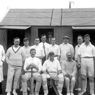 Henley in Arden.  Cricket Team