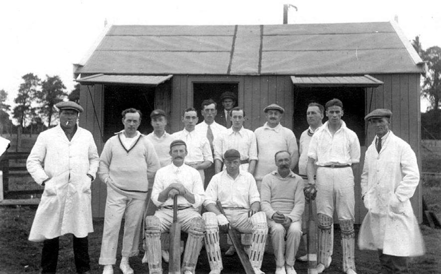Henley in Arden cricket team.  Summer 1924 |  IMAGE LOCATION: (Warwickshire County Record Office)