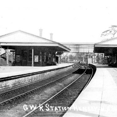 Henley in Arden.  Railway Station