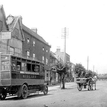 Henley in Arden.  First Midland Red Bus