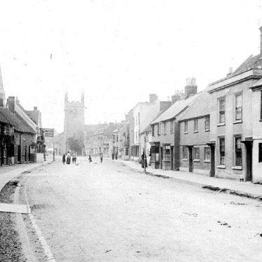 Henley in Arden.  High Street