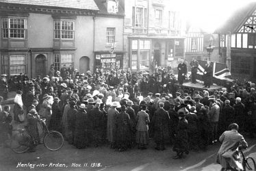 The Armistice in Warwickshire: Part Two