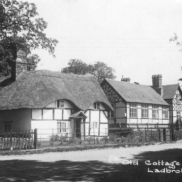 Ladbroke.  Cottage and school