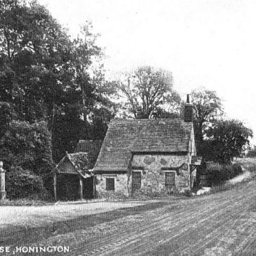 Honington.  Old Toll House