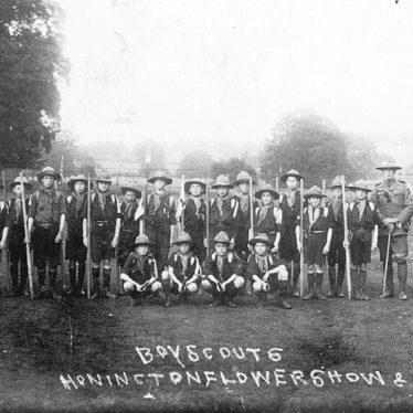 Honington.  Boy Scouts