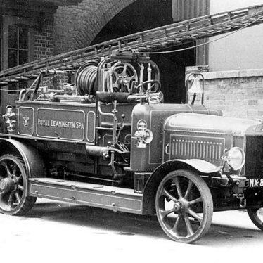 Leamington Spa.  Fire engine