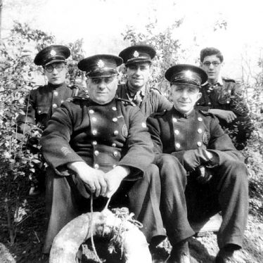 Leamington Spa.  Firemen