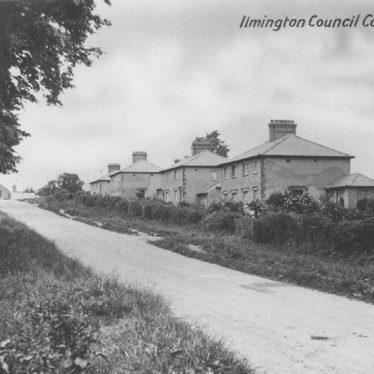 Ilmington.  Council housing