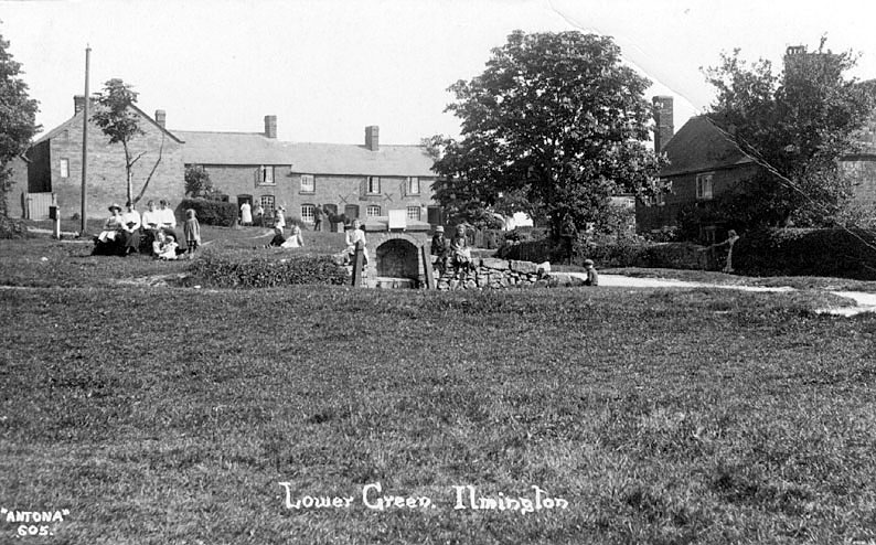 Lower Green, Ilmington.  1900s |  IMAGE LOCATION: (Warwickshire County Record Office)