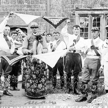 Ilmington.  Morris dancers