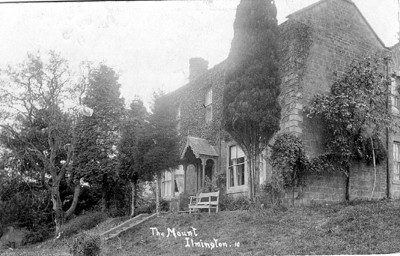 The Mount, Ilmington.  1900s |  IMAGE LOCATION: (Warwickshire County Record Office)