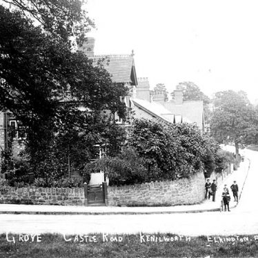 Kenilworth.  Castle Grove