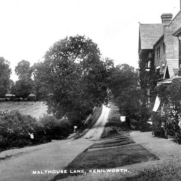 Kenilworth.  Malt House Lane