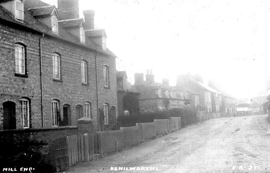 Mill End, Kenilworth.  1900s |  IMAGE LOCATION: (Warwickshire County Record Office)