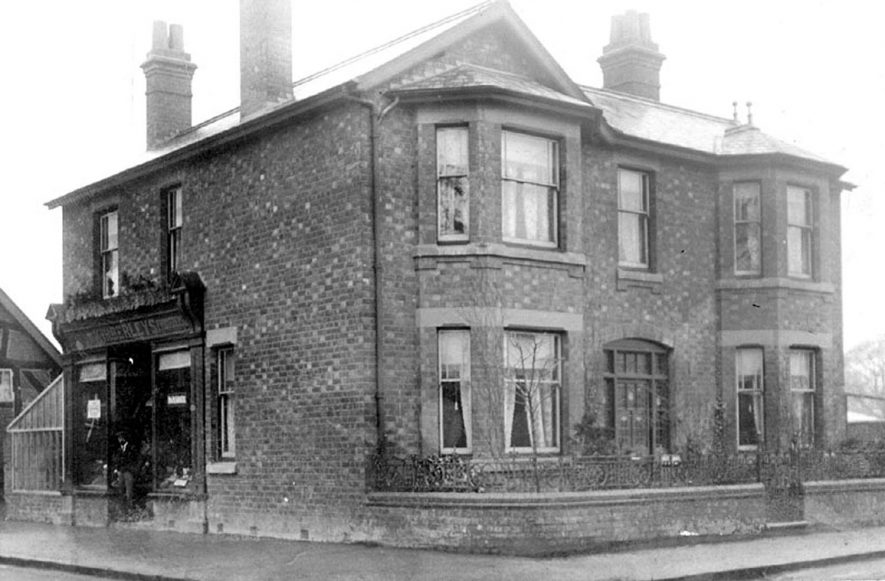 Kimberly's florists, Warwick Road, Kenilworth.  1920s |  IMAGE LOCATION: (Warwickshire County Record Office)