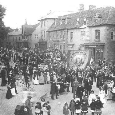 Southam.  Friendly Societies Parade