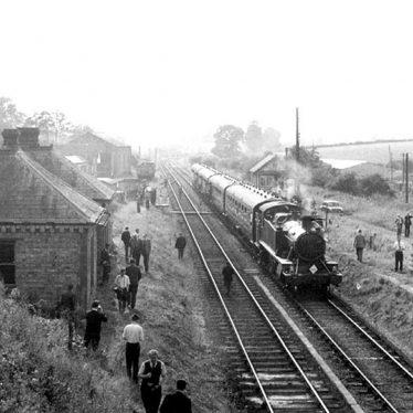 Kineton.  Railway track