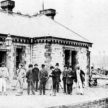 Kineton.  Railway Station