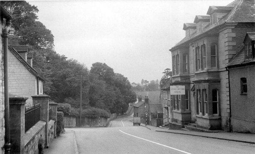 The Manor Lane School, Bridge Street, Kineton.  1950s |  IMAGE LOCATION: (Warwickshire County Record Office)