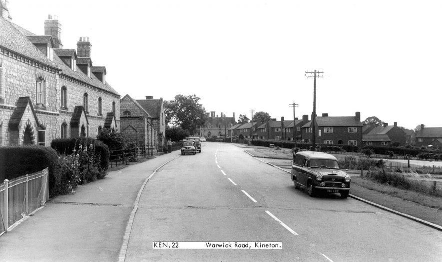 General view of Warwick Road.  1960s |  IMAGE LOCATION: (Warwickshire County Record Office)