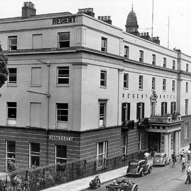 Leamington Spa.  Regent Hotel