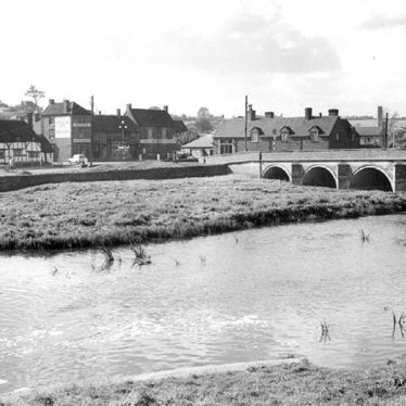Polesworth.  River Anker bridge and footbridge