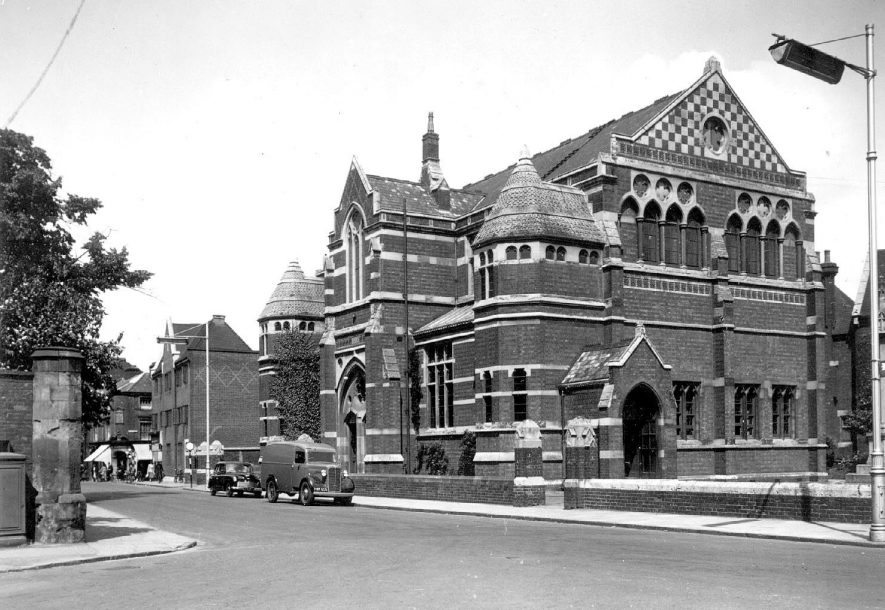 New Big School, Rugby.  1950s |  IMAGE LOCATION: (Warwickshire County Record Office)