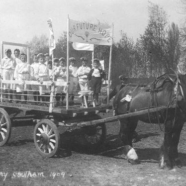 Southam.  May Day celebrations