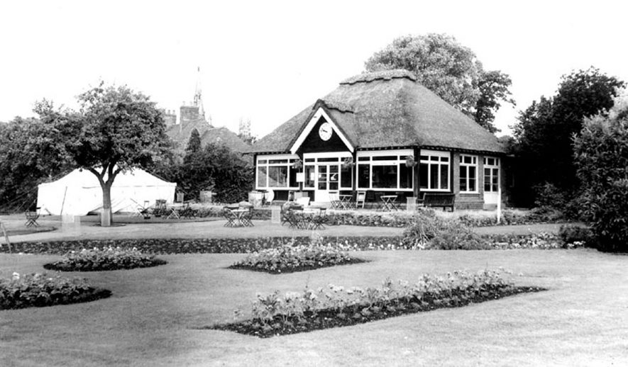 The Cafe in St Nicholas' Park, Warwick.  1960s |  IMAGE LOCATION: (Warwickshire County Record Office)