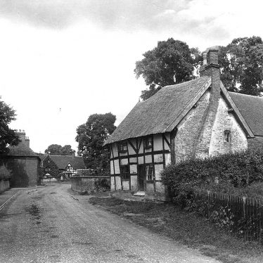 Whitnash.  Cottages