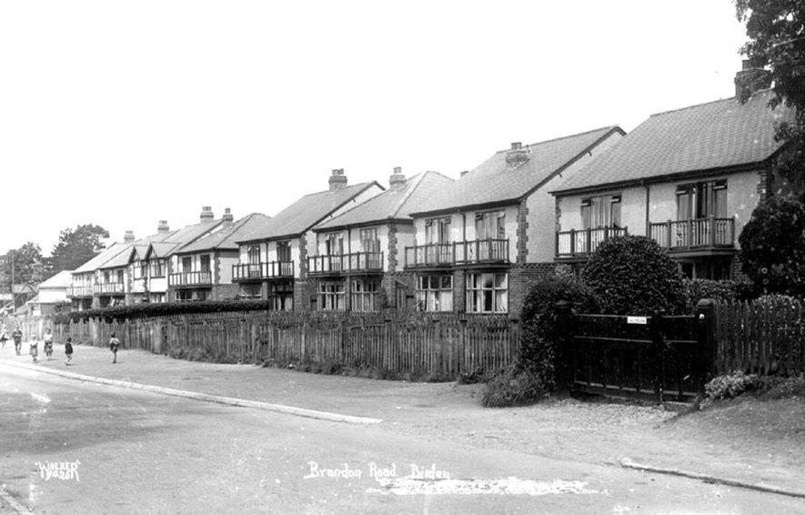 Brandon Road, Binley.  1930s    IMAGE LOCATION: (Warwickshire County Record Office)