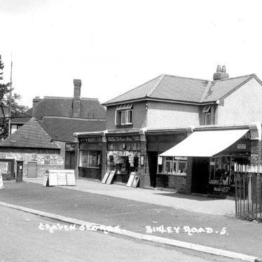 Binley.  Binley Road, Craven Stores