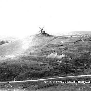 Burton Dassett.  Windmill Hill