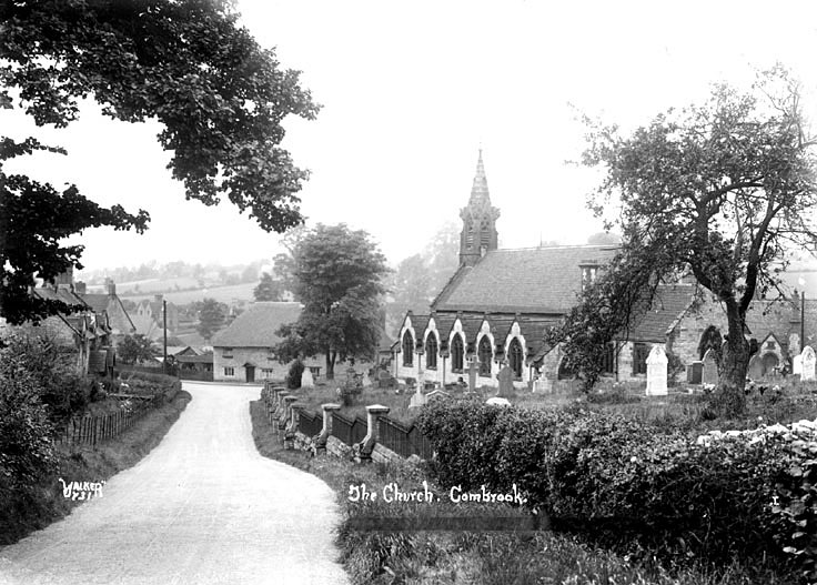 Church of Saint Mary and Margaret, Combrook.  1930s |  IMAGE LOCATION: (Warwickshire County Record Office)