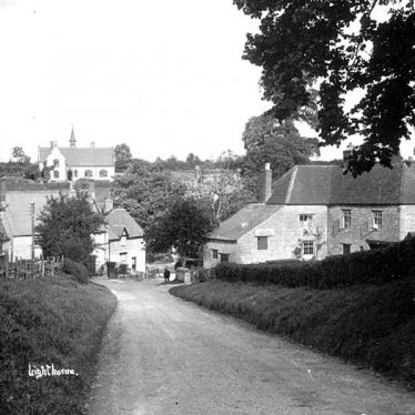 Lighthorne.  Village, Old School and the Antelope Inn