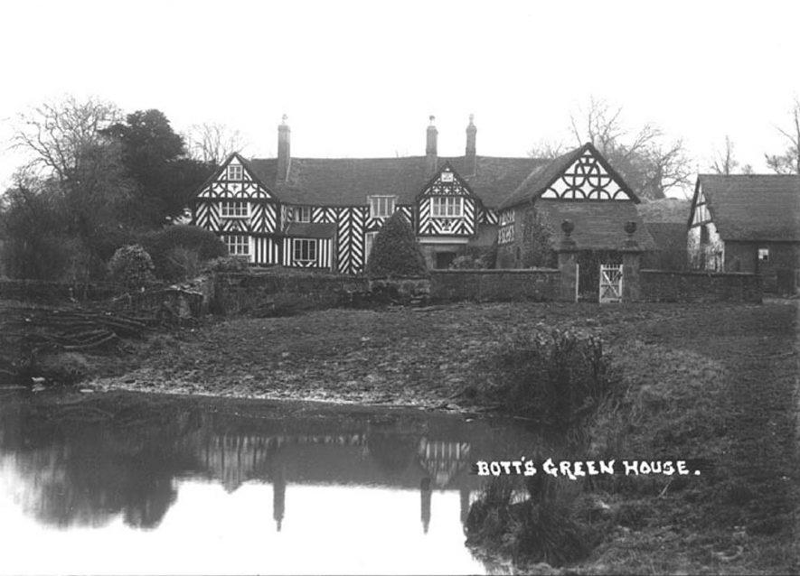 Bott's Green House, Whitacre Heath.  1930s |  IMAGE LOCATION: (Warwickshire County Record Office)